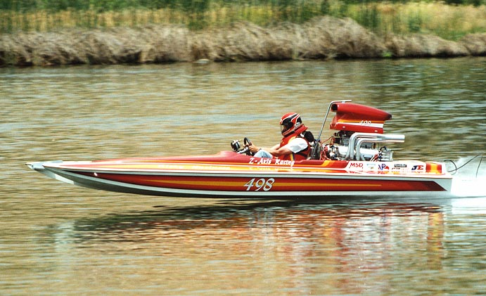 """Risky Business"" at May '99 NJBA Bakersfield, CA race."
